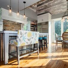 Farmhouse Kitchen by Rudloff Custom Builders