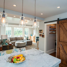 Farmhouse Kitchen by Rudloff Custom Builders
