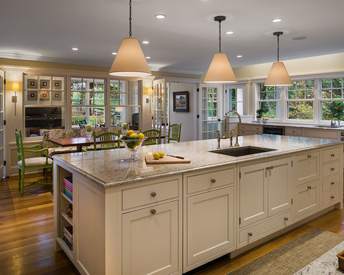 11 ft island home design ideas renovations photos for Kitchen design 94070