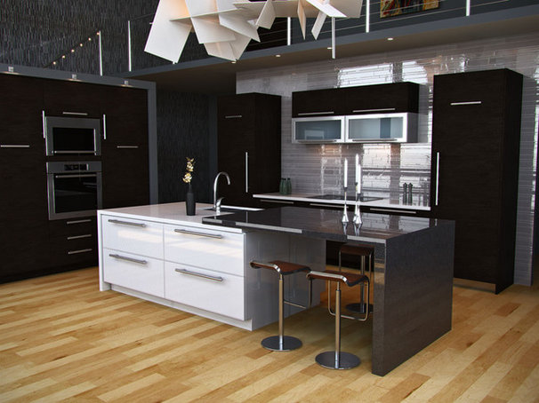 Contemporary Kitchen by Kitchens.com