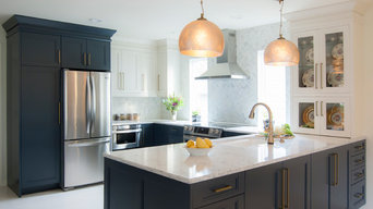 Glam Kitchen and Dining