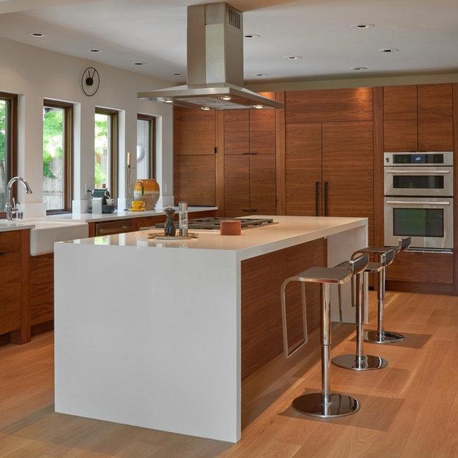 Glam/Mod Mid Century Renovation; Kitchen U0026 Master Bathroom