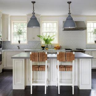 75 Beautiful Dark Wood Floor Kitchen Pictures Ideas Houzz