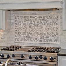 Contemporary Kitchen by Da Vinci Marble