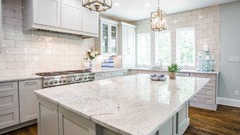 Glamorous Greensboro Kitchen Design
