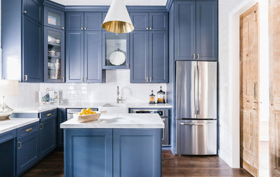 New This Week: 5 Lively Kitchen Cabinet Colors