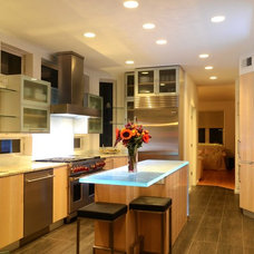 Contemporary Kitchen by Bryce and Doyle Craftsmanship