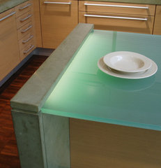 modern kitchen countertops by Brooks Custom