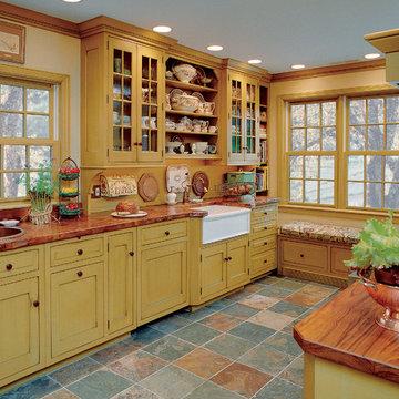 Glass Door and Open Display Cabinets