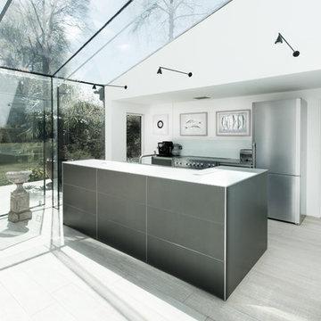 Glass House bulthaup b3 Kitchen