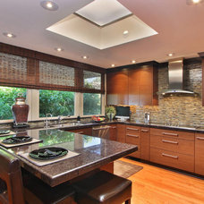 Transitional Kitchen by Imperial Tile & Stone Anaheim