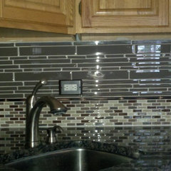 modern kitchen by Glens Falls Tile & Supplies