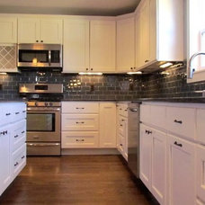 Traditional Kitchen by Troy Tile & Stone