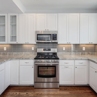 Gray Subway Tile Backsplash Houzz