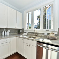 Contemporary Kitchen by Subway Tile Outlet