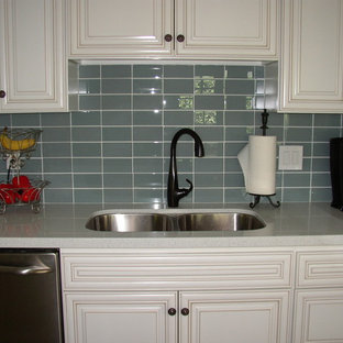 Stacked Subway Tile Houzz