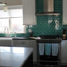 Traditional Kitchen by My Tile Backsplash