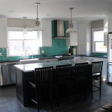 Traditional Kitchen by My Tile Backsplash