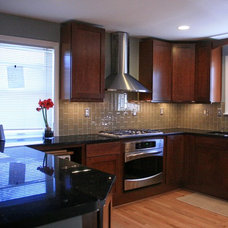 Contemporary Kitchen by Leveille Home Improvement Consultants, Inc.