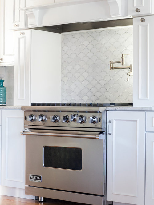 Scalloped Backsplash Design Ideas Amp Remodel Pictures Houzz