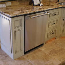 Traditional Kitchen by Todd Inman Custom Cabinetry and Design