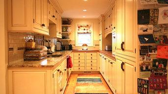 Glazed Beaded Inset Kitchen