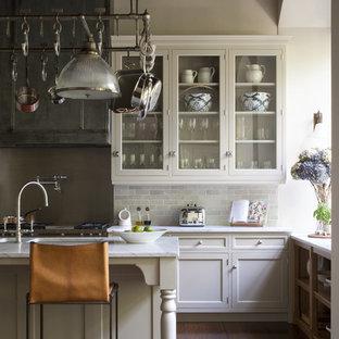 Glazed Kitchen Cabinets - New England Kitchen, London