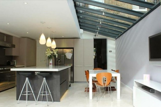 Contemporary Kitchen by Holland in addition to Green Architectural Design