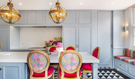 Step Inside an Interior Designer's Colourful, Patterned Home