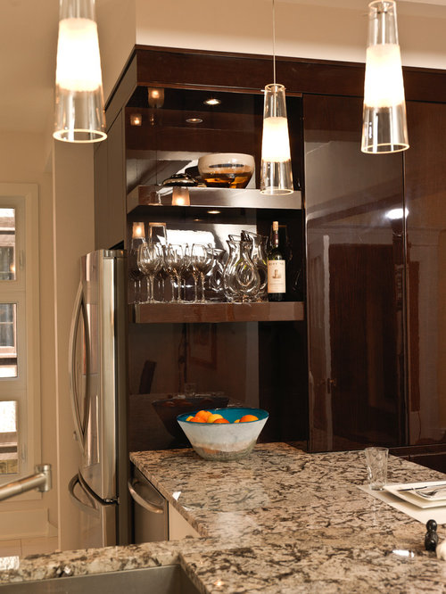 Award Winning Modern Eclectic Kitchen Renovation Astro Ottawa