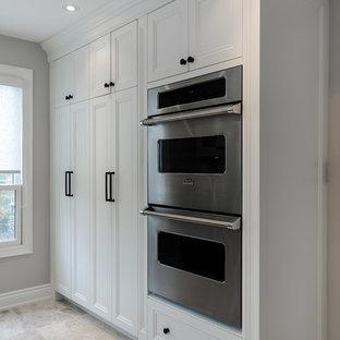 Glen Abbey Oakville - dual finish custom kitchen