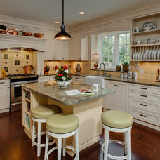 Farmhouse Kitchen by Sara Busby Design