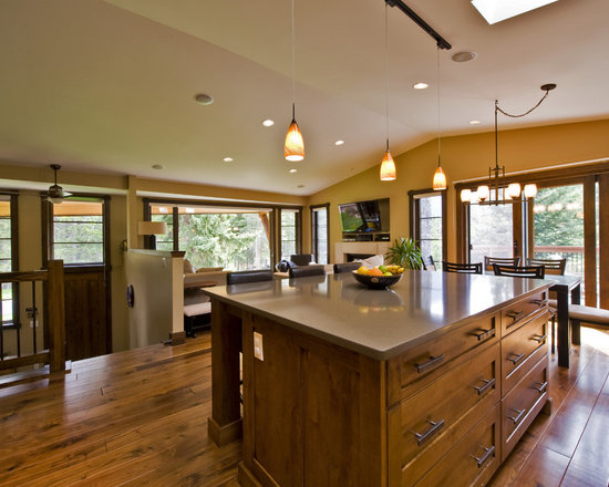 Split Entry Kitchen Home Design Ideas Pictures Remodel and Decor