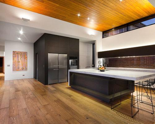 Kitchen Island Overhang island overhang | houzz
