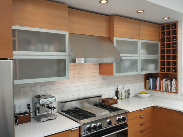 Contemporary Kitchen by Barker Wagoner Architects