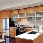 Glen Park Residence - Contemporary - Kitchen - San Francisco - by Barker Wagoner Architects