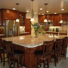 Mediterranean Kitchen by LLJ Interior Design