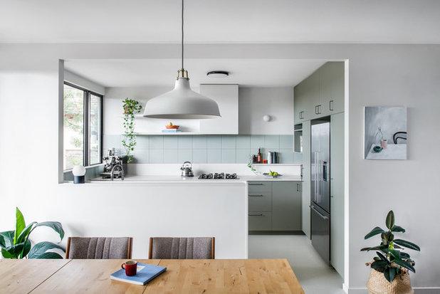 Midcentury Kitchen by Bones Studio