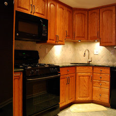 Traditional Kitchen by RJ Maillie Jr LLC