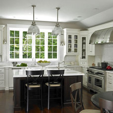 Eclectic Kitchen by Glickman Design Build