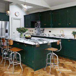Glorious Green Kitchen, Kingston upon Thames
