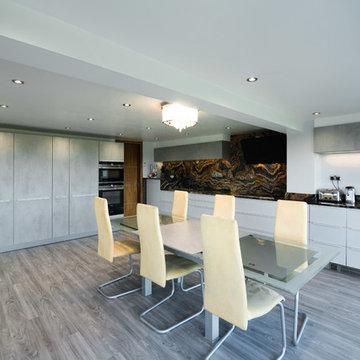 Gloss Grey, Concrete & Orinoco Granite