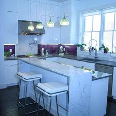 Contemporary Kitchen by Monarch Kitchen and Bath Design, LLC