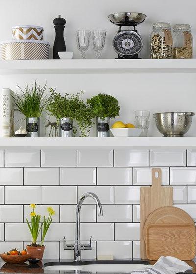 Trendy Køkken Gloss White Kitchen