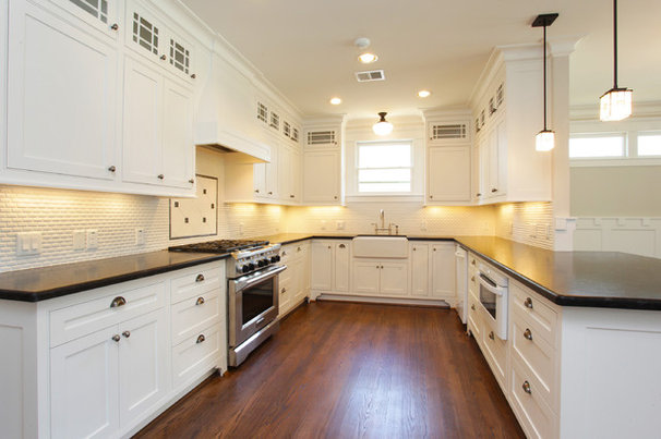 Traditional Kitchen by Marie Flanigan Interiors