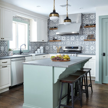 Going Green- Kitchen and Family Room (George to the Rescue)