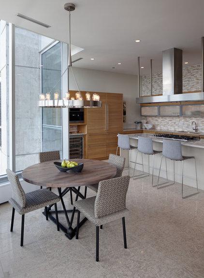 Contemporary Kitchen by Buckingham Interiors + Design LLC