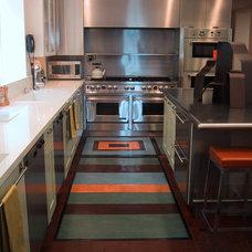 Contemporary Kitchen by Crogan Inlay Floors
