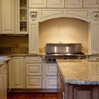 Golden Beach Granite Kitchen - Kitchen - dc metro - by Granite Grannies
