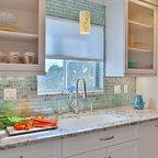 Classical Nantucket Dream Home Beach Style Kitchen